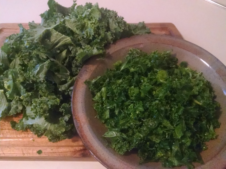 Kale - Before and After Massage